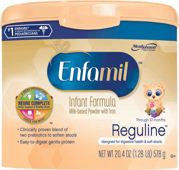 $3.00 Off Enfamil Reguline Infant Formula