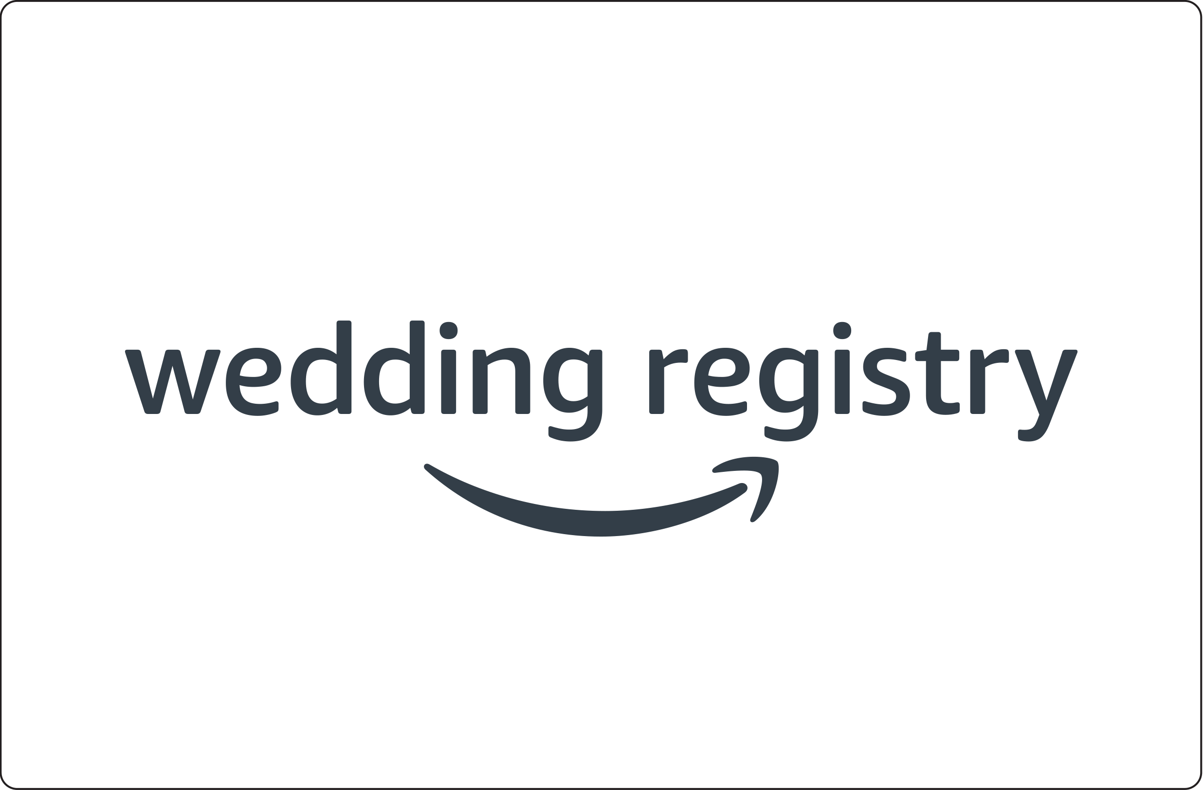 Amazon Wedding Registry: Better Than Coupons