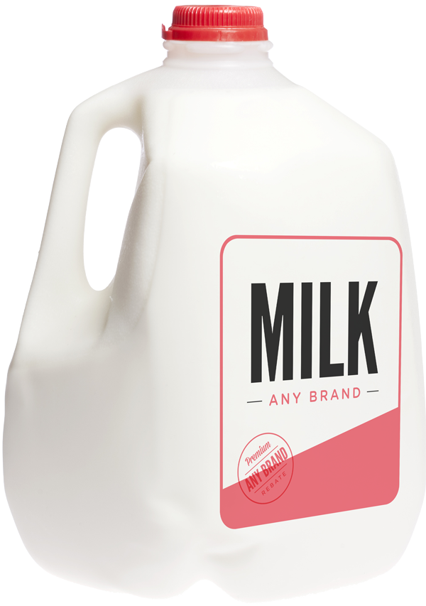 One Gallon White Milk - Any Brand