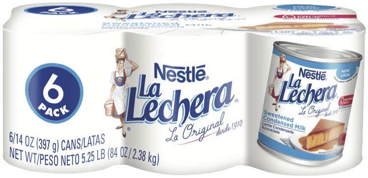 $1.50 for NESTLÉ LA LECHERA Sweetened Condensed Milk (expiring on Monday, 05/31/2021). Offer available at Sam's Club.