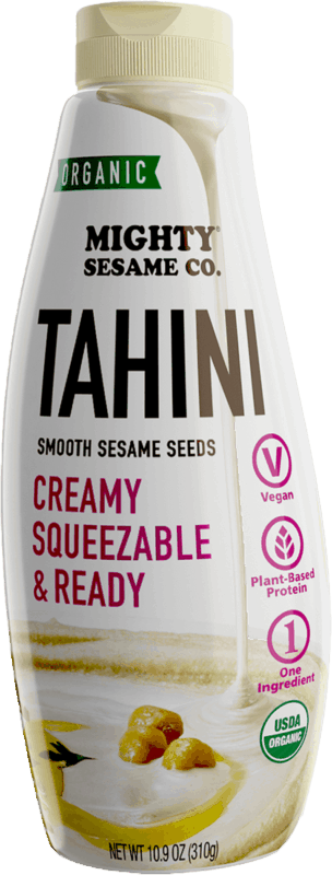 $1.00 for Mighty Sesame Co. Organic Squeeze Tahini (expiring on Monday, 04/20/2020). Offer available at multiple stores.