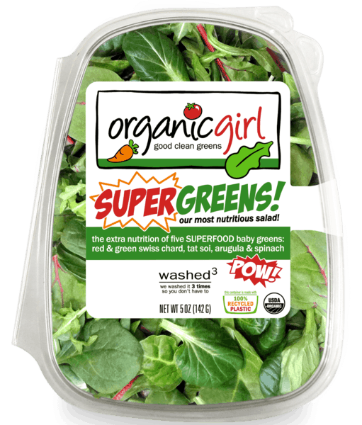 $0.50 for organicgirl® good clean greens (expiring on Wednesday, 05/02/2018). Offer available at multiple stores.