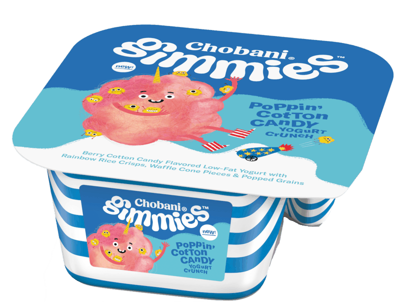 $0.50 for Chobani® Gimmies™ Kids' Yogurt Crunch. Offer available at Walmart.