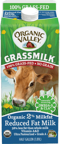 $1.75 for Organic Valley® Grassmilk (expiring on Tuesday, 04/25/2017). Offer available at multiple stores.