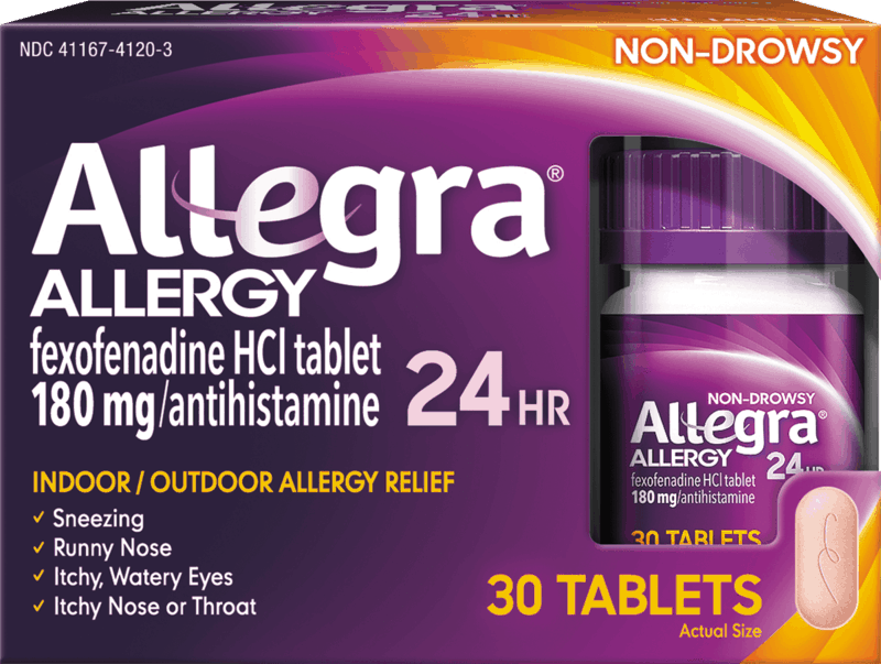$2.00 for Allegra Allergy. Offer available at multiple stores.