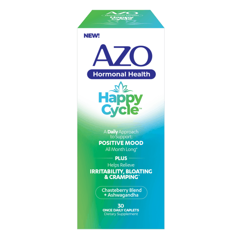 $3.00 for AZO Happy Cycle. Offer available at Target, Walmart, CVS Pharmacy, Walmart Pickup & Delivery, Target Online.