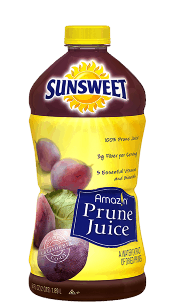 $0.75 for Sunsweet® Amaz!n™ Prune Juice (expiring on Friday, 12/15/2017). Offer available at multiple stores.