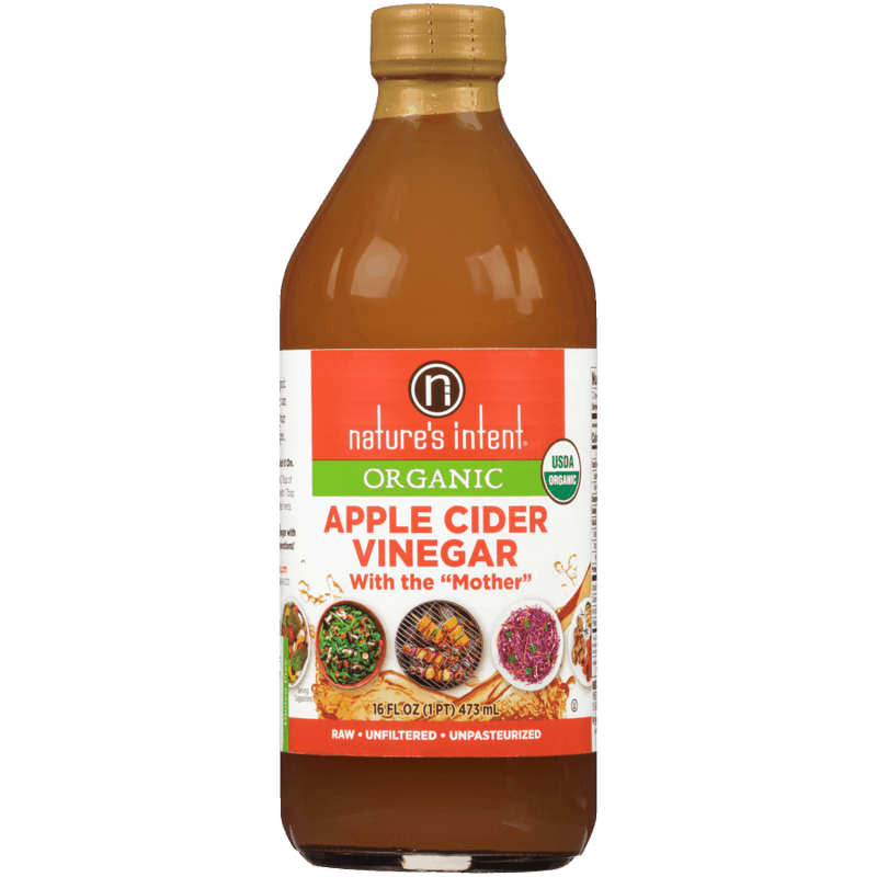 $2.00 for Nature's Intent® Organic Apple Cider Vinegar (expiring on Sunday, 08/02/2020). Offer available at multiple stores.