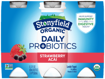 $1.50 for Stonyfield® Organic Probiotic Shot (expiring on Wednesday, 09/30/2020). Offer available at multiple stores.