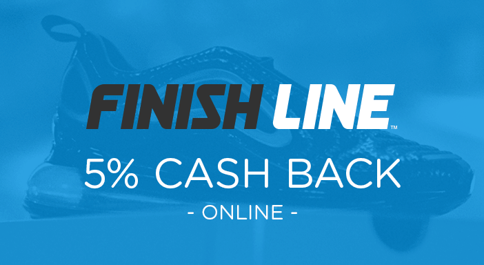 $0.00 for Finish Line (expiring on Monday, 08/31/2020). Offer available at Finish Line.