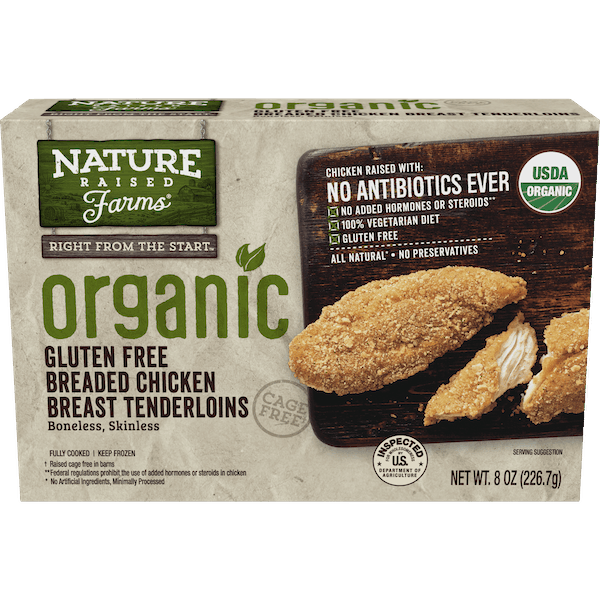 $2.00 for NatureRaised Farms® Organic Chicken Breast Tenderloins (expiring on Saturday, 03/16/2019). Offer available at Kroger.