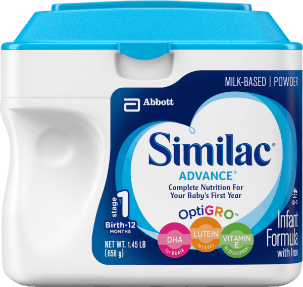 $3.00 for Similac® Infant Formula. Offer available at Walmart.