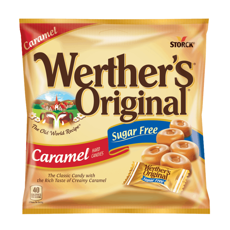 $0.50 for Werther's Original Sugar Free (expiring on Wednesday, 05/27/2020). Offer available at Dollar General.