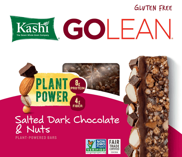 Earn $0.75 when you purchase Kashi® Bars