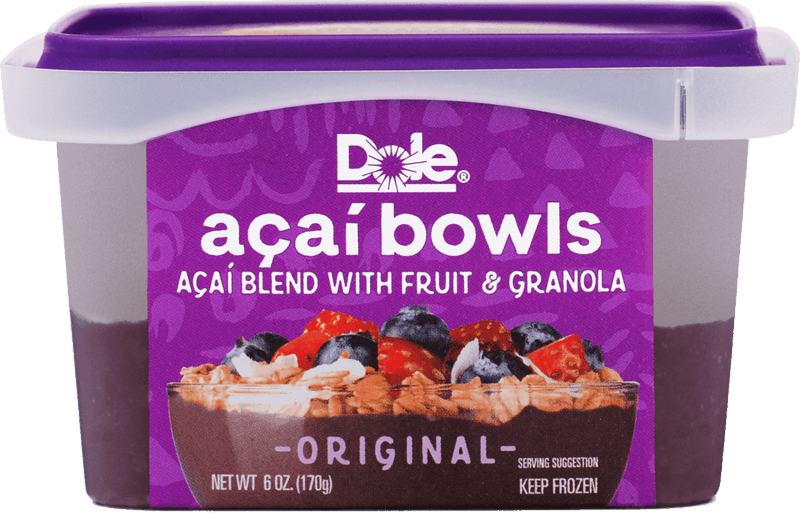 $0.75 for Dole® Açaí Bowls (expiring on Wednesday, 10/02/2019). Offer available at Walmart.