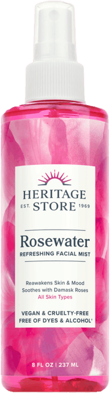 $3.00 for Heritage Store Rosewater (expiring on Thursday, 12/16/2021). Offer available at Walmart, Walmart Pickup & Delivery.