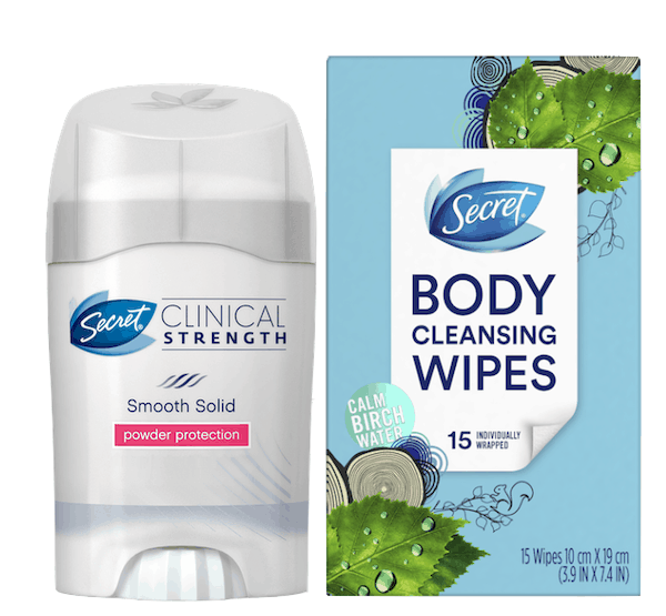 image about Secret Deodorant Printable Coupons identify $5.00 for Secret® Health care Vitality Antiperspirant and