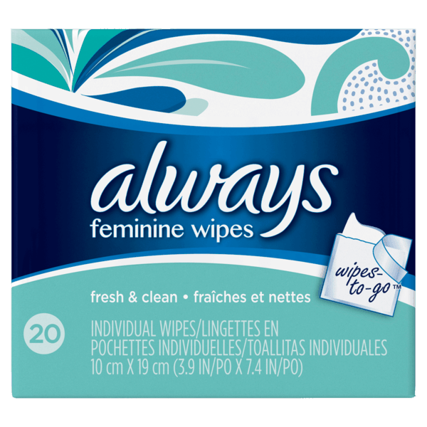 $0.50 for Always® Wipes (expiring on Friday, 06/30/2017). Offer available at multiple stores.