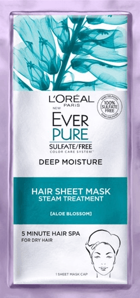 $2.00 for L'Oreal Paris® EverPure Hair Sheet Masks (expiring on Wednesday, 07/31/2019). Offer available at Walmart.