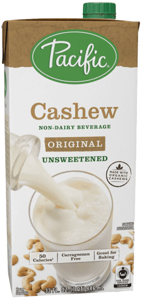 $1.25 for Pacific Foods™ Cashew Non-Dairy Beverage (expiring on Tuesday, 07/31/2018). Offer available at multiple stores.