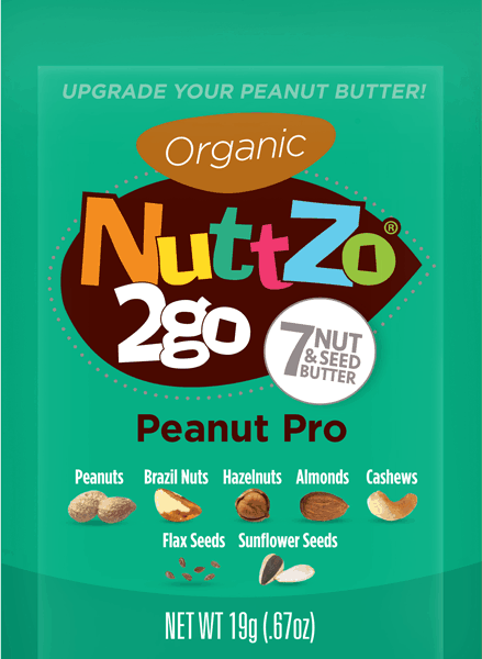 $0.75 for NuttZo® 7 Nut and Seed Butter - 2Go Packs. Offer available at multiple stores.