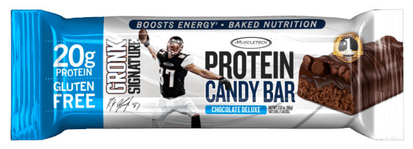 $0.75 for MuscleTech® Gronk Signature Protein Candy Bar (expiring on Tuesday, 04/02/2019). Offer available at Walgreens, Meijer, 7-Eleven, GNC.