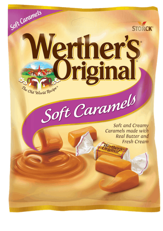 $1.00 for Werther's Original Caramels (expiring on Tuesday, 11/17/2020). Offer available at Walmart, Walmart Grocery.