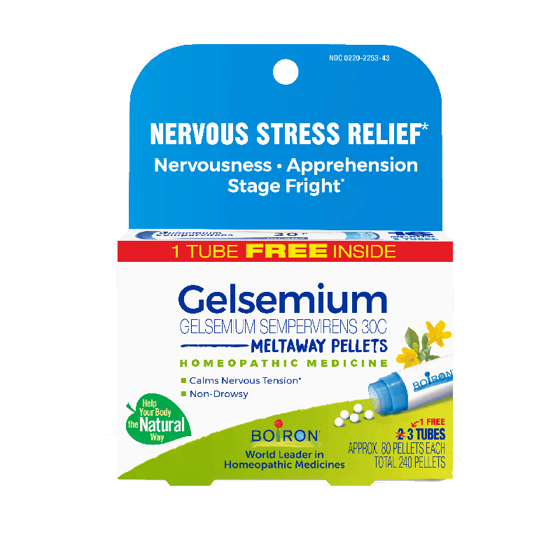 $1.00 for Gelsemium 30C (expiring on Monday, 01/31/2022). Offer available at Natural Grocers, The Vitamin Shoppe.