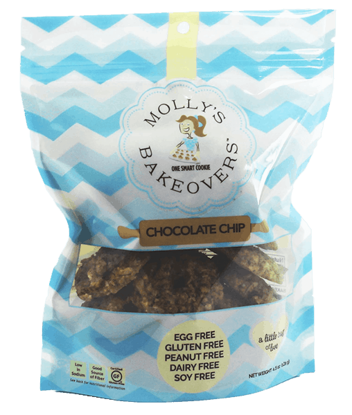 $0.50 for Molly's Bakeovers™ Cookies (expiring on Sunday, 09/02/2018). Offer available at Bed Bath & Beyond.
