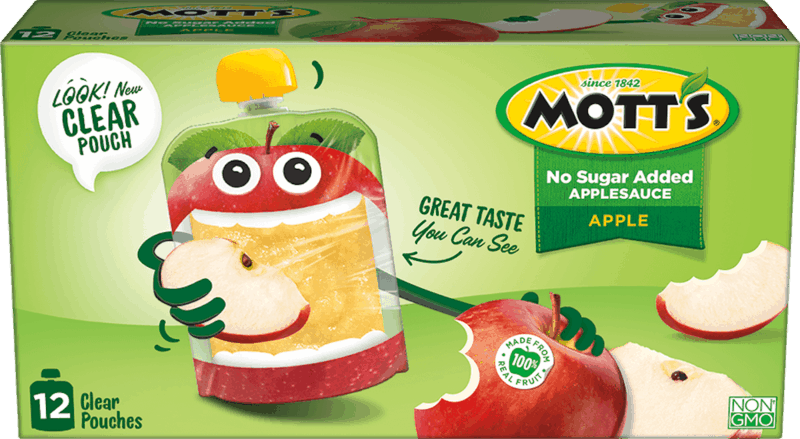 $1.00 for Mott's® Applesauce Pouches. Offer available at multiple stores.