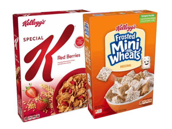 $1.00 for Kellogg's® Cereal. Offer available at multiple stores.