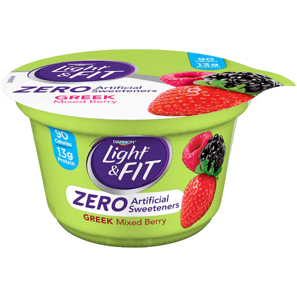 $0.75 for Dannon® Light® & Fit Greek Yogurt with Zero Artificial Sweeteners (expiring on Friday, 11/02/2018). Offer available at multiple stores.