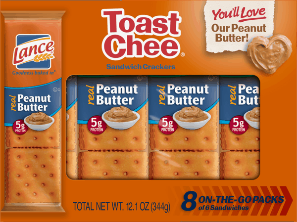 $1.00 for Lance® Sandwich Crackers. Offer available at multiple stores.