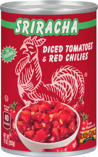 $0.50 for Sriracha Diced Tomatoes & Red Chilies (expiring on Friday, 11/02/2018). Offer available at multiple stores.