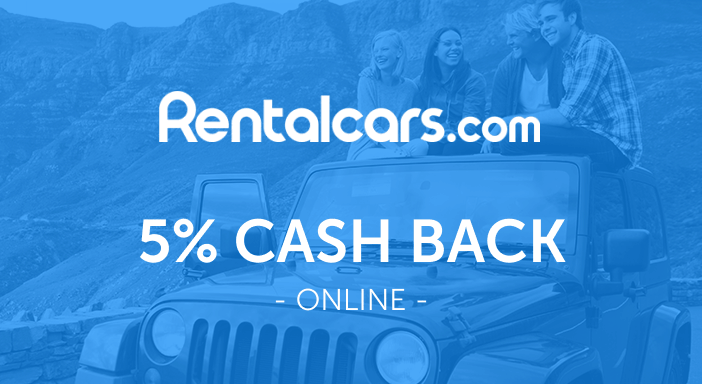 $0.00 for RentalCars.com (expiring on Monday, 04/19/2021). Offer available at RentalCars.com.