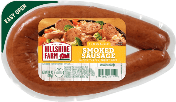 $0.50 for Hillshire Farm® Sausage. Offer available at Walmart.