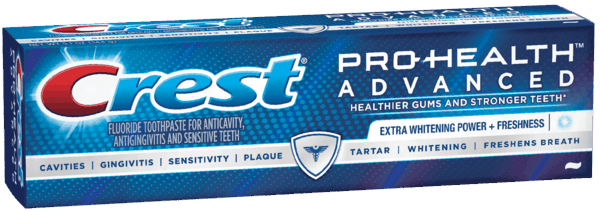 $0.50 for Crest® Toothpaste (expiring on Monday, 01/01/2018). Offer available at multiple stores.