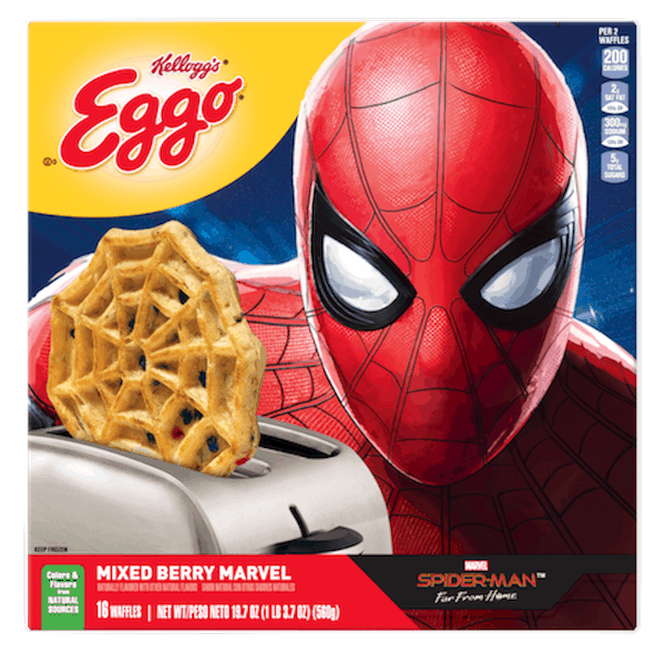 $1.00 for Eggo® Waffles. Offer available at Walmart.
