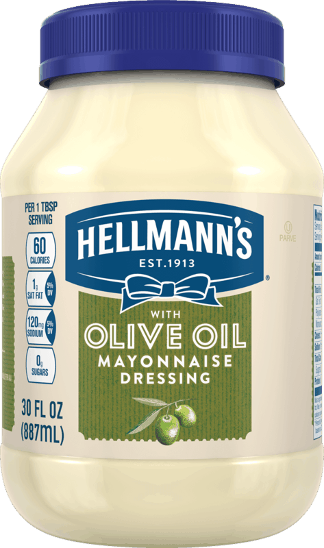 $0.75 for Hellmann's® Olive Oil Mayonnaise (expiring on Sunday, 02/09/2020). Offer available at multiple stores.