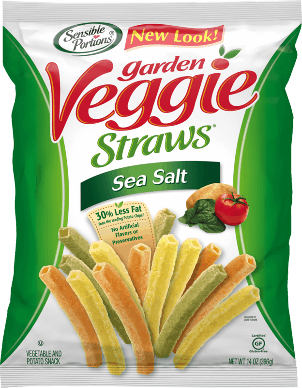 $1.00 for Sensible Portions Garden Veggie Straws (expiring on Monday, 11/30/2020). Offer available at multiple stores.