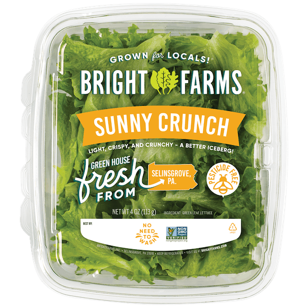 $1.00 for BrightFarms Salad Greens (expiring on Wednesday, 10/28/2020). Offer available at multiple stores.