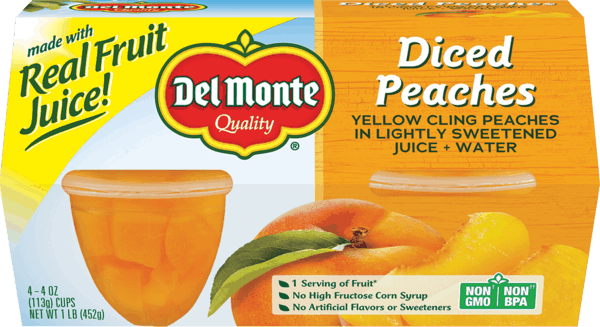 $0.75 for Del Monte® Packaged Fruit Cups (expiring on Sunday, 03/17/2019). Offer available at multiple stores.