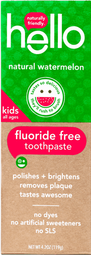 $1.00 for hello® kids toothpaste (expiring on Wednesday, 01/31/2018). Offer available at Walmart.