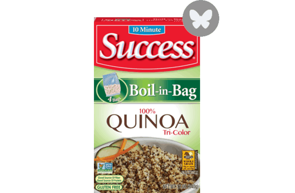 $1.00 for Success® Tri-Colored Quinoa. Offer available at Walmart.