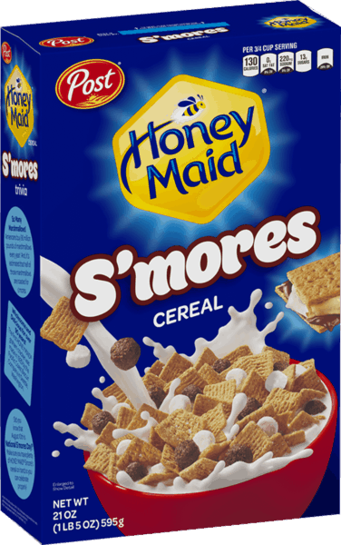 $0.30 for Honey Maid® S'mores Cereal (expiring on Friday, 11/02/2018). Offer available at Walmart.
