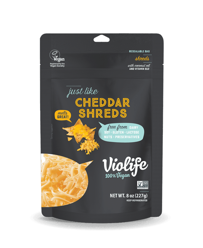 $1.00 for Violife® Vegan Cheese (expiring on Monday, 03/02/2020). Offer available at multiple stores.