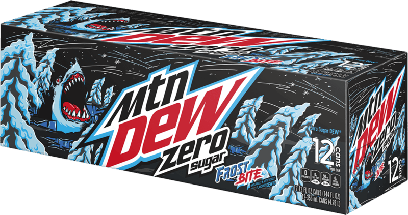 $0.75 for Mtn Dew Frost Bite (expiring on Monday, 08/23/2021). Offer available at Walmart, Walmart Pickup & Delivery.