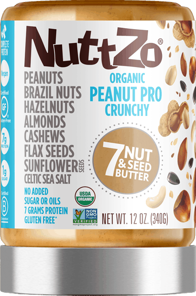$1.50 for NuttZo® 7 Nut and Seed Butter - Peanut Pro (expiring on Friday, 11/10/2017). Offer available at multiple stores.