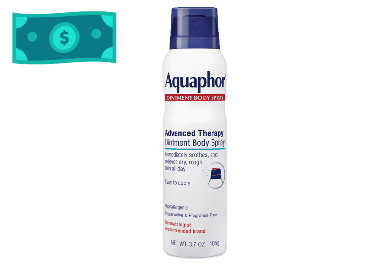 $2.50 for Aquaphor Ointment Body Spray. Offer available at multiple stores.