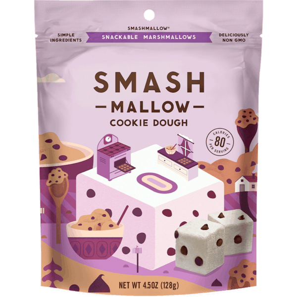 $0.75 for SMASHMALLOW® Snackable Marshmallows (expiring on Friday, 05/03/2019). Offer available at Walmart.